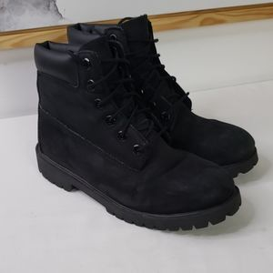 Timberland Black Suede Boot, Size 5.5
